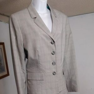 Suit ~ Evan Picone Skirt Suit Set size 14